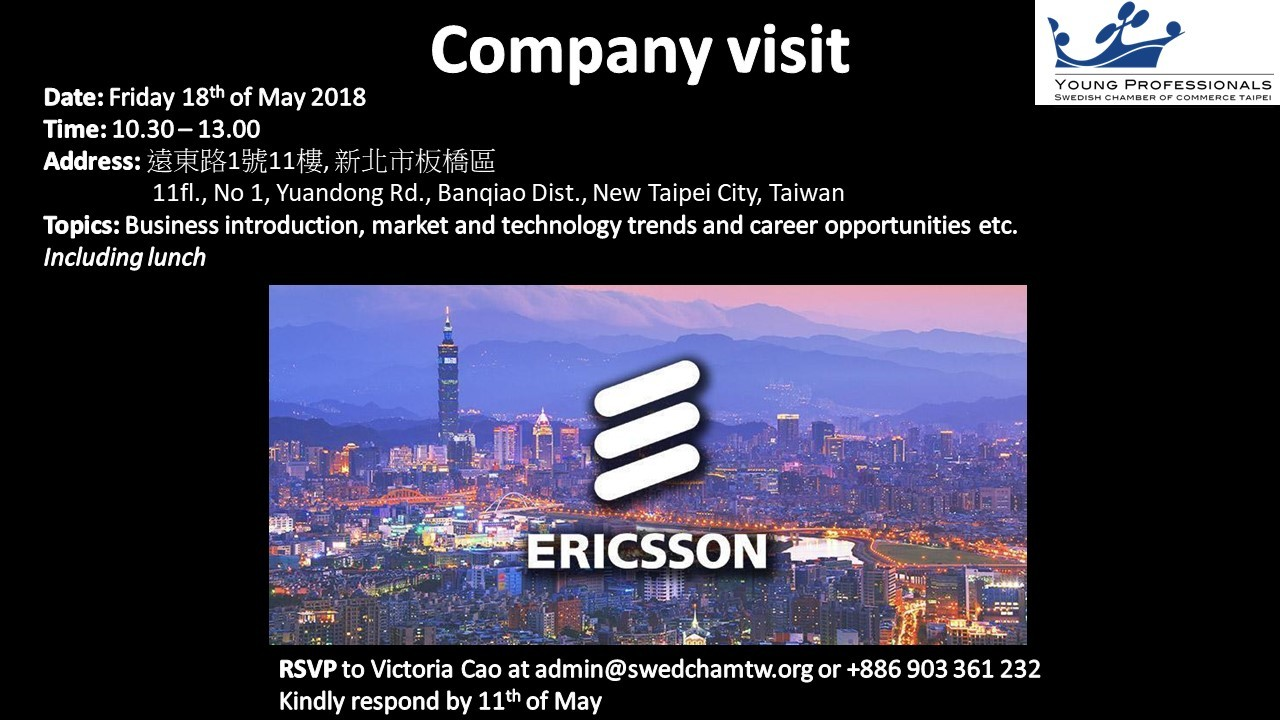 Ericsson_companyvisit_YP - 180315