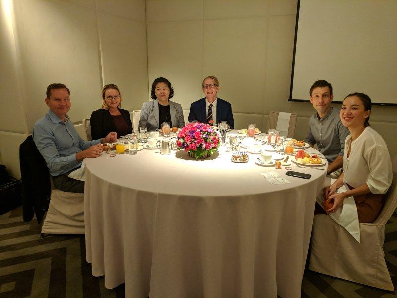 2018 JBC Breakfast Meeting with State Secretary Ms. Stina Billinger
