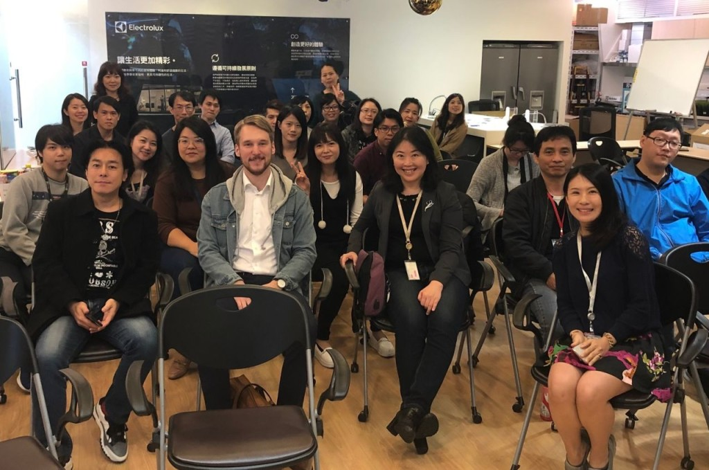 2019 Sweden Workshop with Electrolux Taiwan