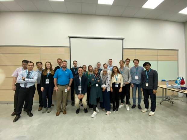Atlas Copco Study visit and Case Competition