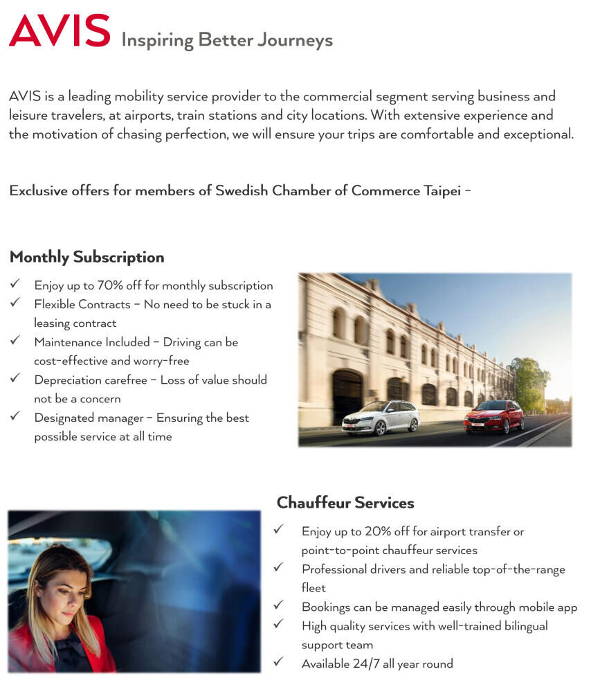 AVIS - Mobility Solution for SCCT
